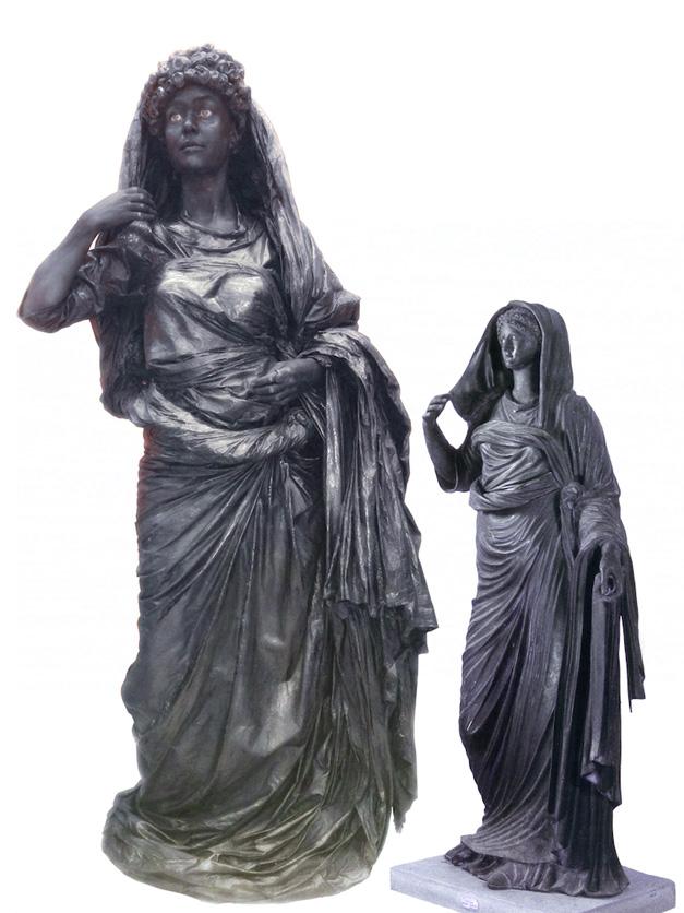 Maatwerk levend standbeeld Agrippina 10