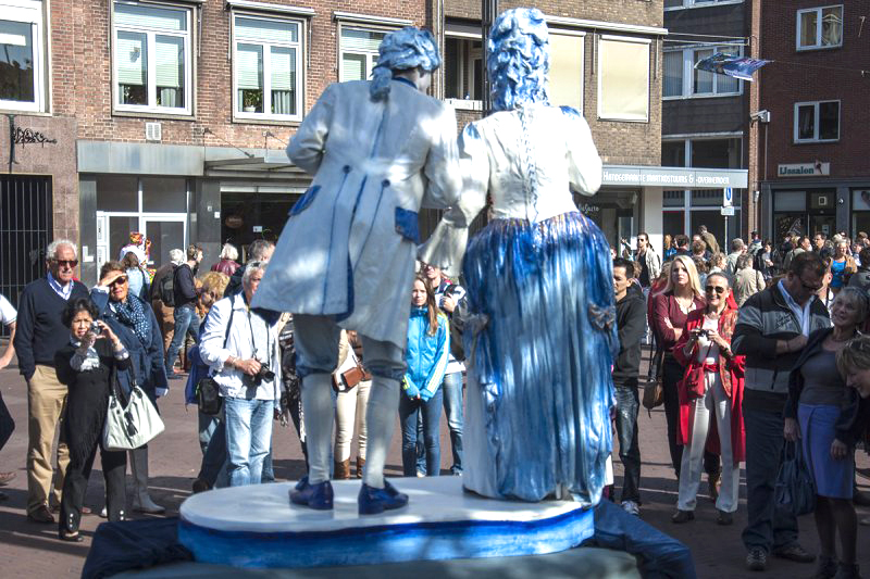 004 Duo Kitsch - Living Statue - Levend Standbeeld | 010 Animation - Animatie