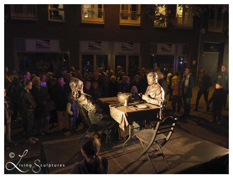 001 Wat Schaft de Pot - Potluck! - Living Statue - Levend Standbeeld 04
