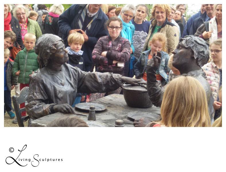 001 Wat Schaft de Pot - Potluck! - Living Statue - Levend Standbeeld 10
