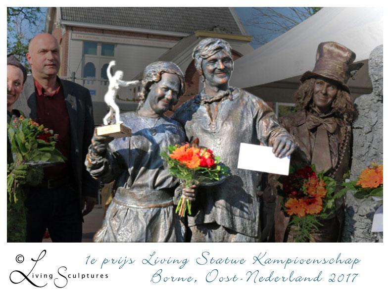 001 Wat Schaft de Pot - Potluck! - Living Statue - Levend Standbeeld 11