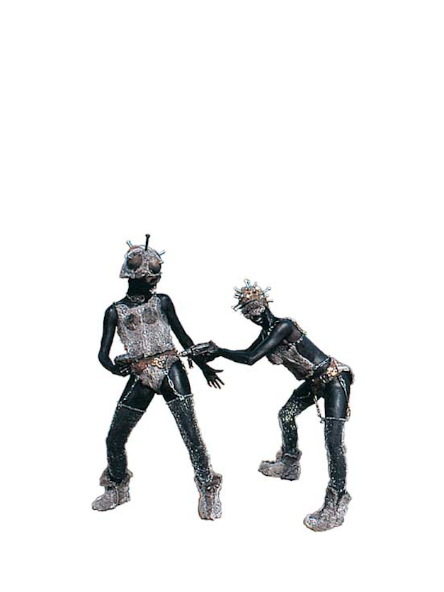 Maatwerk levend standbeeld IJzeren maagden