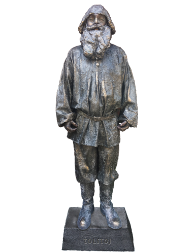 Levend Standbeeld - Living Statue Nieuw Tolstoj