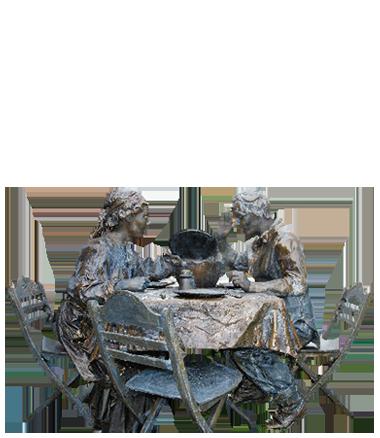 001 Wat Schaft De Pot - Potluck - Living Statue - Levend Standbeeld