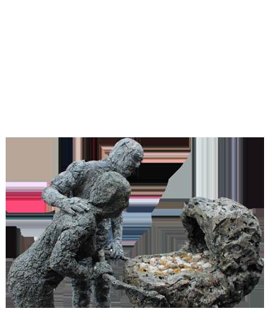 003 Animatie Terra's Trots - Animation Proud Rocks - Living Statue - Levend Standbeeld