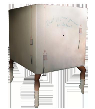 004 Animatie Levende Kijkdoos - Animation Living Show Box - Living Statue - Levend Standbeeld