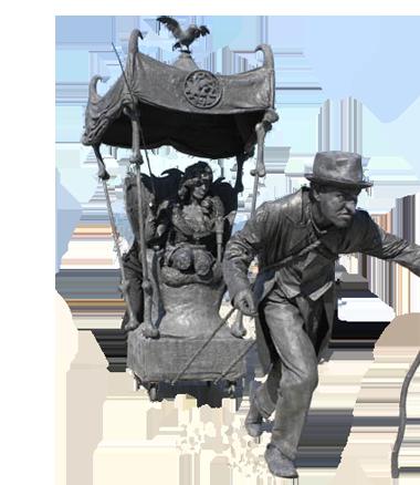005 Animatie Het Stenen Sprookje - Animation Fairytale of Stone - Living Statue - Levend Standbeeld