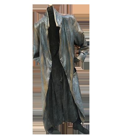 005 JAS - Coat - Living Statue - Levend Standbeeld