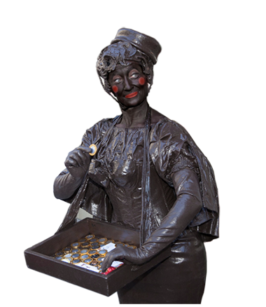008 Choco Candy - Living Statue - Levend Standbeeld