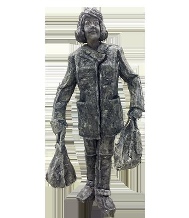009 Beppie - Beppy - Living Statue - Levend Standbeeld