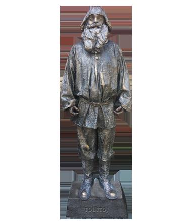 015 Tolstoj - Living Statue - Levend Standbeeld