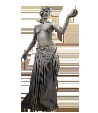 022 Venus van Milo - Aphrodite of Milos - Living Statue - Levend Standbeeld