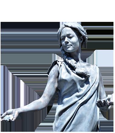 026 Luna - Living Statue - Levend Standbeeld