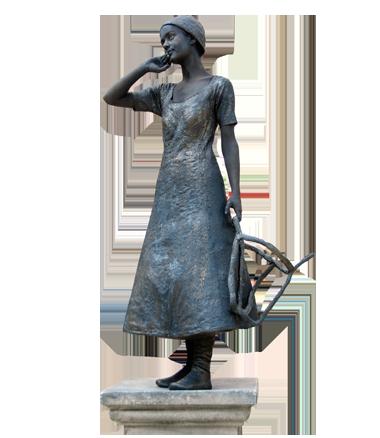 032 Mariken van Nimwegen - Living Statue - Levend Standbeeld