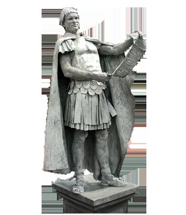 033 Romeinse Keizer - Roman Emperor - Living Statue - Levend Standbeeld