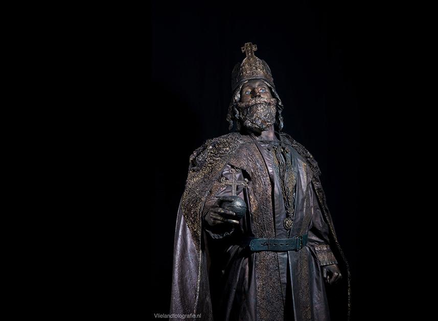 035 Keizer Karel - Charlemagne - Living Statue - Levend Standbeeld 01