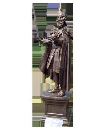 035 Keizer Karel - Charlemagne - Living Statue - Levend Standbeeld