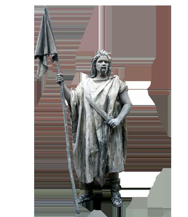 036 Batavier - Batavian -Living Statue - Levend Standbeeld
