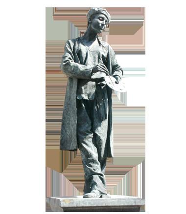 044 Kunstschilderes - Lady Painter - Living Statue - Levend Standbeeld
