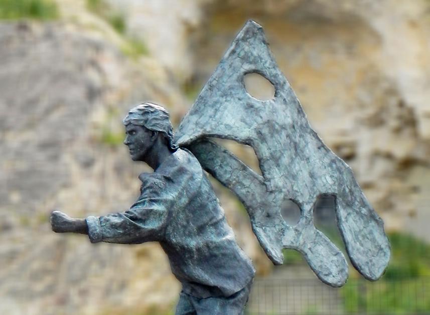 045 Verzetsstrijder - Resistance Fighter - Living Statue - Levend Standbeeld 01