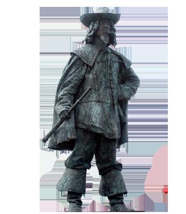 048 Ontdekkingsreiziger - Explorer - Living Statue - Levend Standbeeld