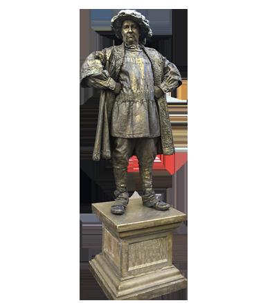 049 Hertog Van Gelre - Duke of Guelders - Living Statue - Levend Standbeeld