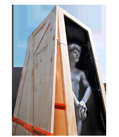 051 David - Living Statue - Levend Standbeeld