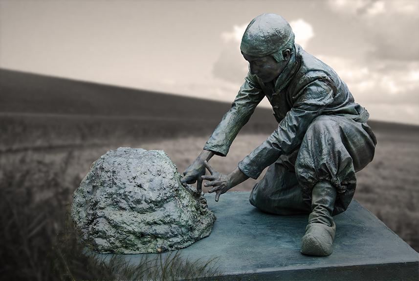 052 Hansje Brinker - Living Statue - Levend Standbeeld 01