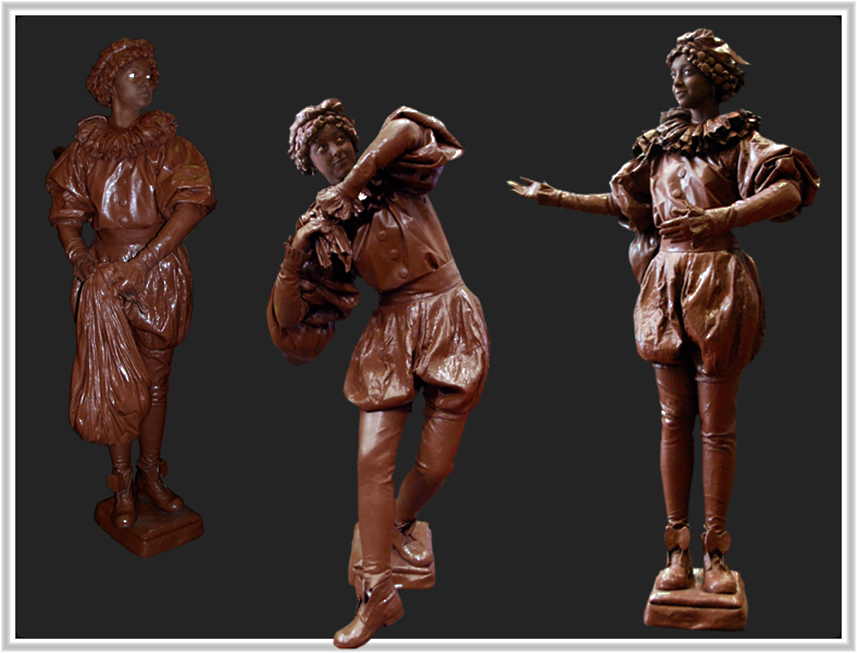 053 Chocopietje - Chocolate Pete - Living Statue - Levend Standbeeld 01
