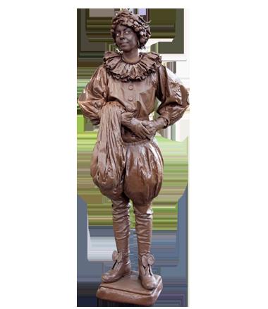 053 Chocopietje - Chocolate Pete - Living Statue - Levend Standbeeld