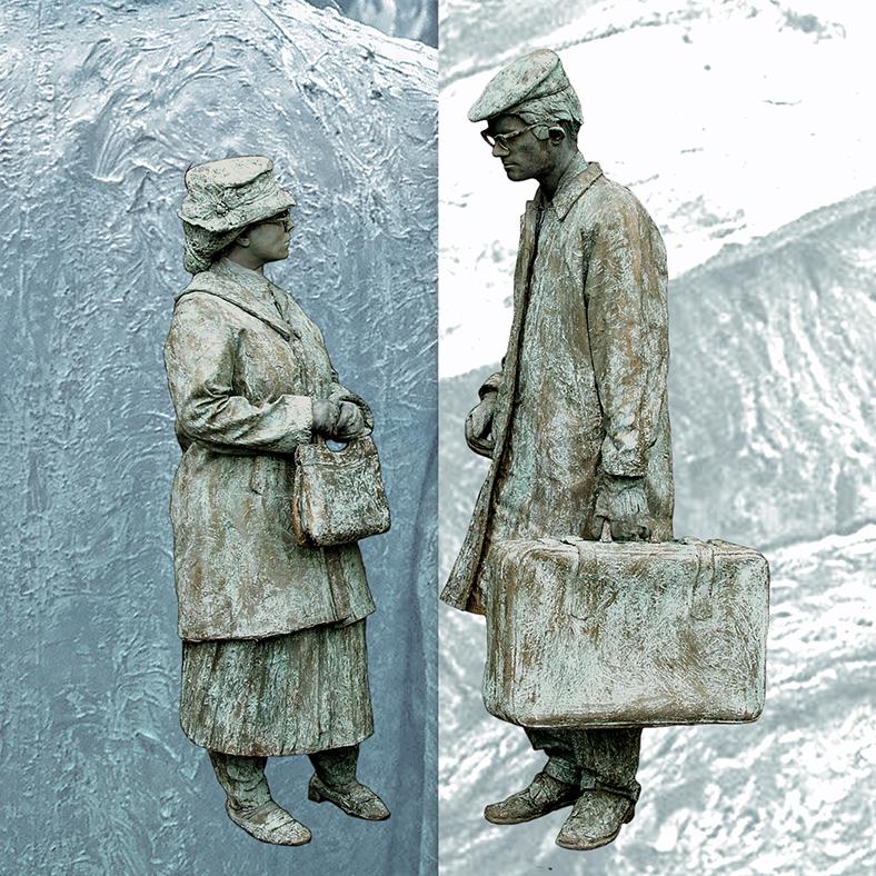 054 Jansen & de Vries - Miss Jansen & Mr de Vries - Living Statue - Levend Standbeeld | 019 - Animation - Animatie