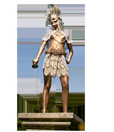 059 Venetiaans Goud - Venetian Gold - Living Statue - Levend Standbeeld