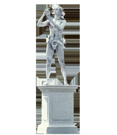 065 Tuinbeelden - Garden Statues - Living Statue - Levend Standbeeld