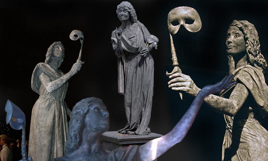 068 Stenen Schoone - Beauty in Stone - Living Statue - Levend Standbeeld 01