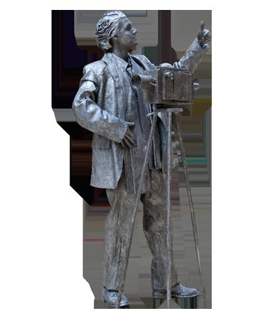 073 Cineast - Cameraman - Living Statue - Levend Standbeeld