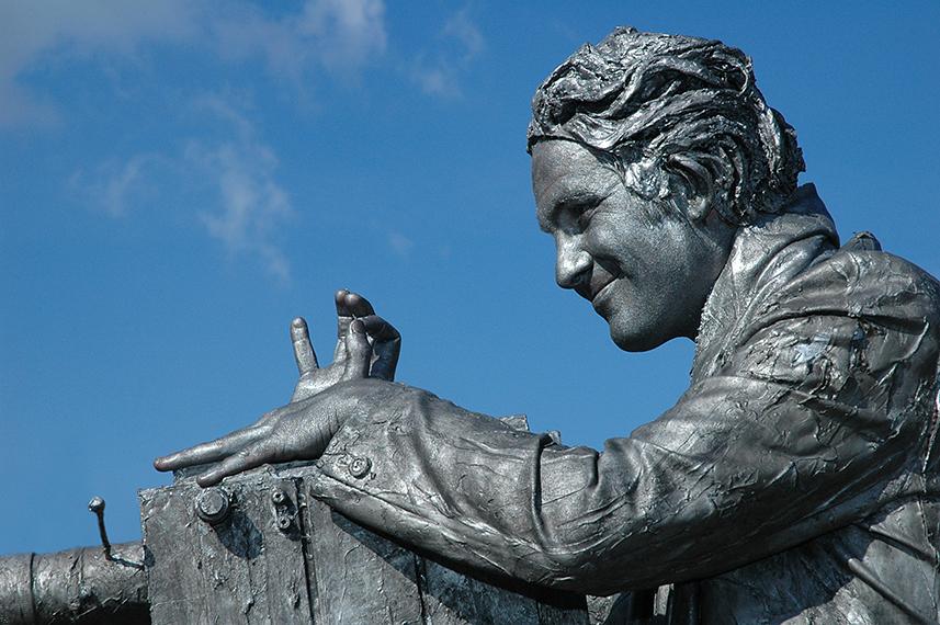 073 Cineast - Camerman - Living Statue - Levend Standbeeld 01