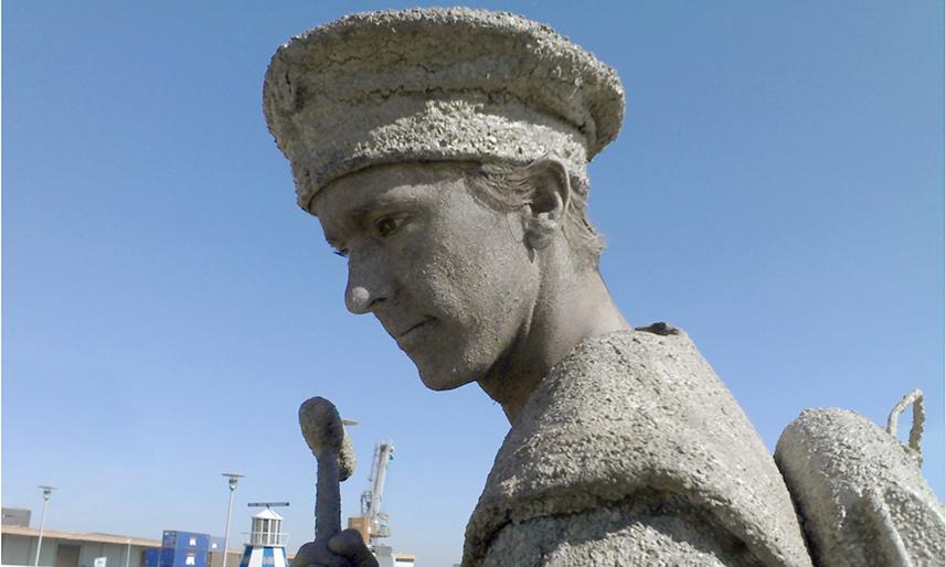 076 De Matroos - Sailor - Living Statue - Levend Standbeeld 01