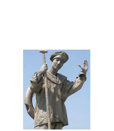 076 De Matroos - Sailor - Living Statue - Levend Standbeeld
