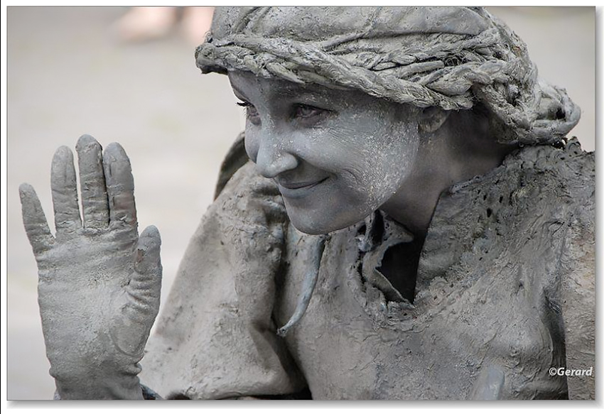 078 Gevallen Engelen - Fallen Angels - Living Statue - Levend Standbeeld 01