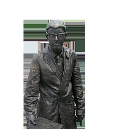 079 Henk Van Zanten - Living Statue - Levend Standbeeld