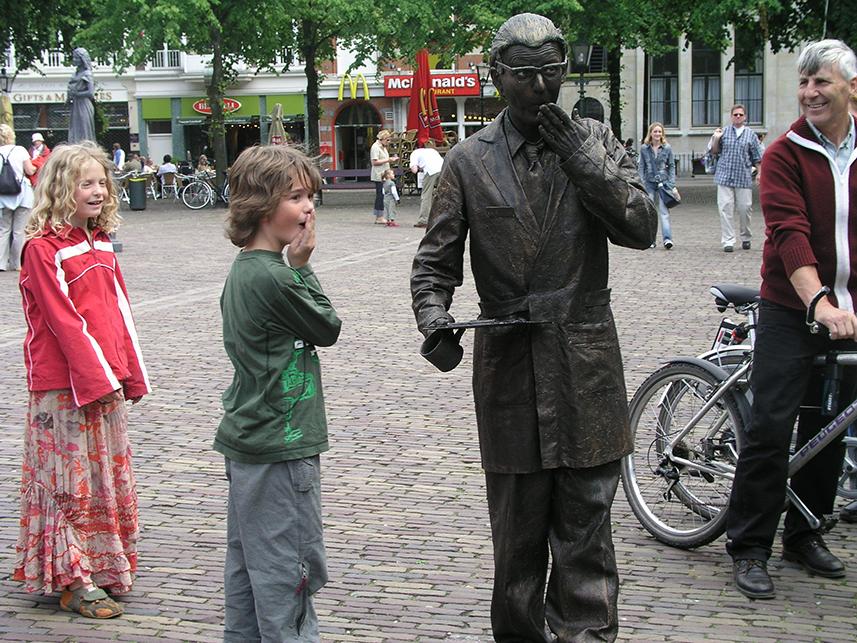 079 Henk van Zanten - Living Statue - Levend Standbeeld 01