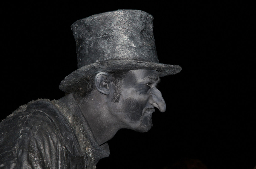 088 Pisar - Living Statue - Levend Standbeeld 01