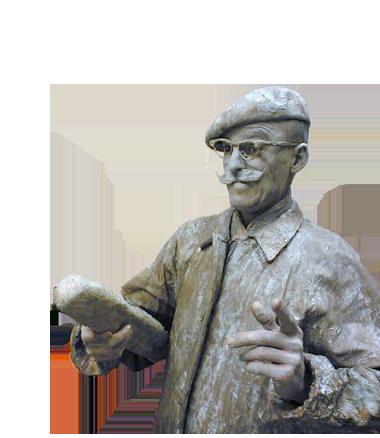089 Monsieur Baguette - Living Statue - Levend Standbeeld