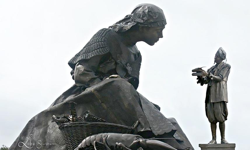 092 Edelman - Nobleman - Living Statue - Levend Standbeeld 01