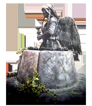 095 Sofa Van Zittuel -Sofa of Sitwell - Living Statue - Levend Standbeeld