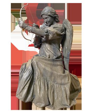 097 Cupido - Cupid - Living Statue - Levend Standbeeld