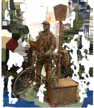 099 Toerist - Tourist - Living Statue - Levend Standbeeld