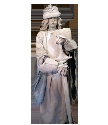 102 Zandgraaf - Sand Lord - Living Statue - Levend Standbeeld