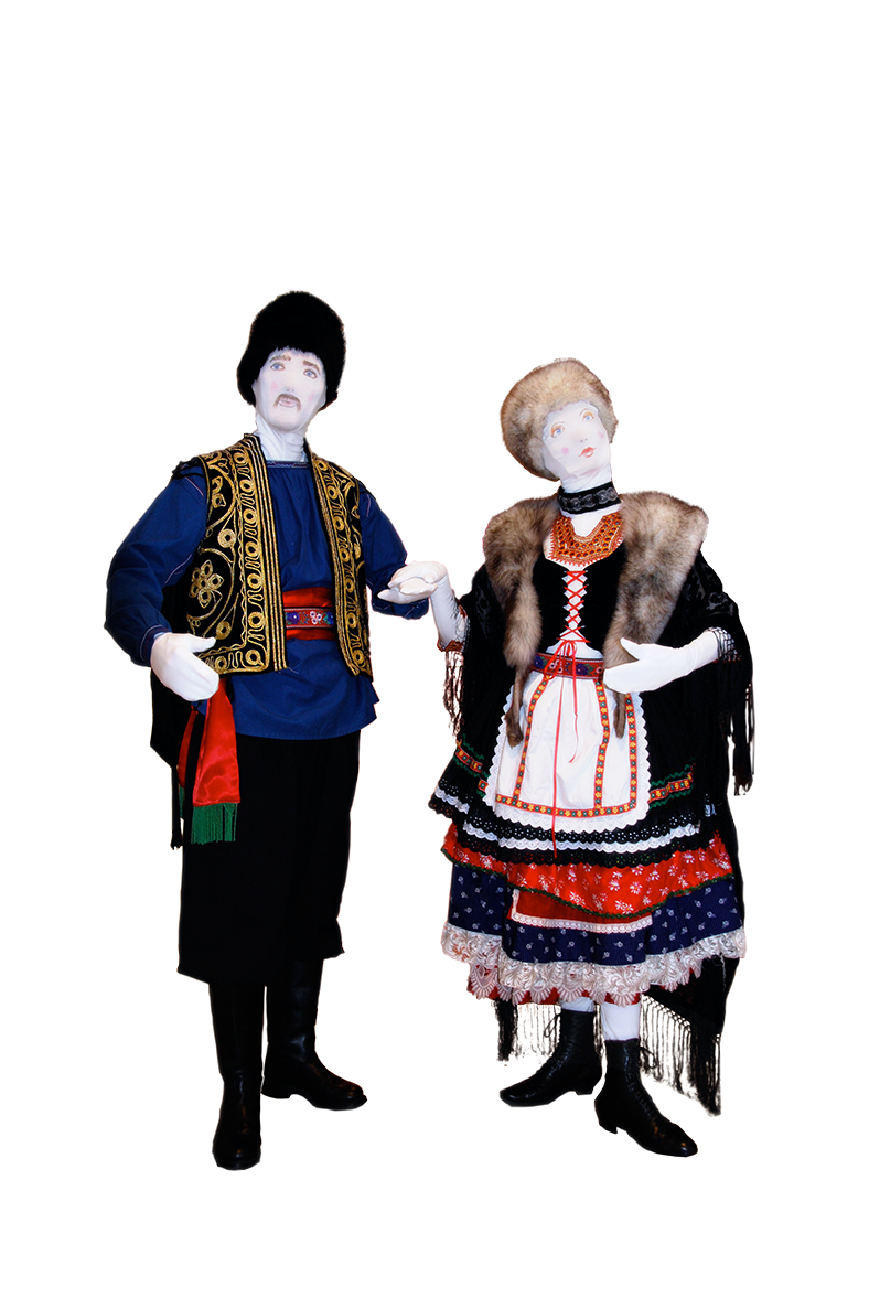 023 Folklorepoppen - Folklore Dolls - Living Statue - Levend Standbeeld | 011 Animation - Animatie
