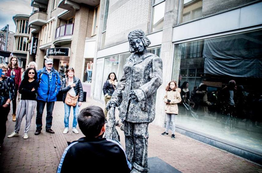 Beeldtheater Living Sculptures Beppie - Beppy 01